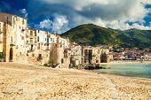 Old Beach Of Cefalu, Sicily