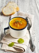 picture of ginger bread  - Carrot And Ginger Soup With Red Lentils - JPG