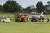 Air Crash At Shuttleworth Airshow