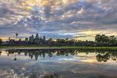 Sunrise at Angkor Wat Temple