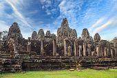 Bayon Temple at Siem Reap Cambodia