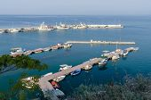 pic of nea  - Greece Thermaikos bay view of the pier with fishing boats - JPG