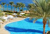 Sharm El Sheikh, Egypt -  December 2: The Tourists Are On Vacation At Popular Hotel On December 2, 2