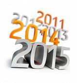 stock photo of happy new year 2013  - new year 2015 - JPG