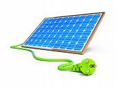Solar Panel Power Plug
