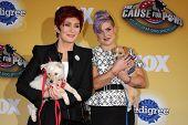 LOS ANGELES - NOV 22:  Sharon Osbourne, Kelly Osbourne at the FOX's