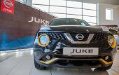 Samara, Russia - November 16, 2014: Inside In The Office Of Official Dealer Nissan. Nissan Is A Japa