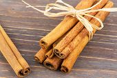 cinnamon as ingredients for cookies and biscuits for christmas