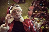 Bad Santa Smoking After Party
