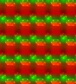 Christmas Background, Red and Green