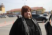 Lawyer Violetta Volkova At The Airport Of Krasnodar