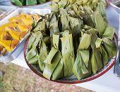 Sticky Rice With Thai Custard