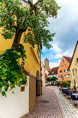 Cityscape of Ellwangen, Germany