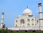Taj Mahal side view, Agra, India