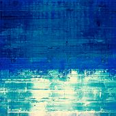 Retro background with grunge texture. With different color patterns: white; blue