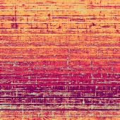 Old and weathered grunge texture. With different color patterns: purple (violet); orange; red; yellow
