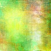 Art grunge vintage textured background. With different color patterns: yellow; orange; green