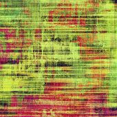 Grunge background with space for text or image. With different color patterns: green; orange; red; brown