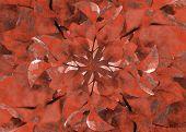 Floral Grunge Decorative Background