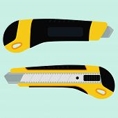 Cutter Knife (office Paper Knife)