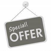 Special Offer Sign