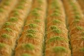 picture of baklava  - very delicious Turkish Dessert Baklava - JPG