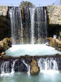 Japanese Park waterfall