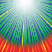 foto of divergent  - Abstract Wave Background with Red Yellow Green Rays - JPG