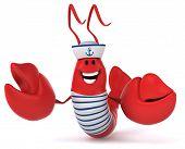 picture of lobster  - Fun lobster - JPG