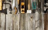 image of tool  - Old working tools - JPG