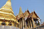 image of tantric  - A golden pagoda Grand Palace Bangkok Thailand - JPG