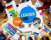 foto of tasks  - Leader Leadership Manager Task Staff Concept - JPG