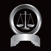 justice scales silver crest