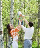 Family At Nature