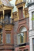 Plateau- Mont-Royal Architecture, Montreal. poster