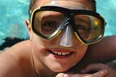 Kid Having Summer Fun