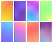 Colorful Halftone Background. Comic Book Texture, Cartoon Comics Art And Dotted Halftone Vector Back poster