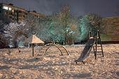 Snow-Clad Playground