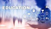 Education, Learning, Study Concept. Apacity Development.training Personal Development. Mixed Media B poster