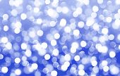 Abstract, Background, Lovely, Blue, Spot, Blurred, Bokeh, Bright, Christmas, Color, Decoration, Defo poster