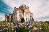 Begoml, Vitsebsk Region, Belarus. Old Ruins Of All Saints Church. Ruins Of Old Cultural And Architec poster