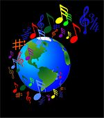 Music makes the world go around
