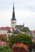 foto of olaf  - View on old town with st - JPG