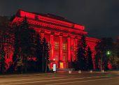 Red Building Of Taras Shevchenko Kyiv University