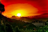 Sunrise At Ang Khang