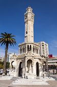 Antique Clock Tower From Izmir