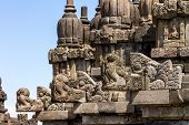 Bas-reliefs In Prambanan Temple, Yogyakarta, Java Island, Indonesia