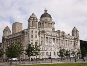 A View Of The Port Of Liverpool Building