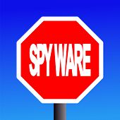 Stop Spyware Sign