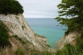 The White Cliffs Of Moen In Denmark